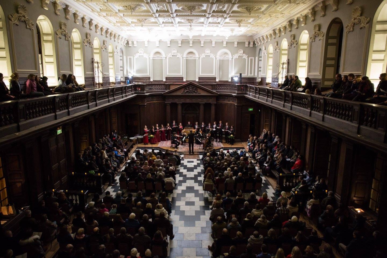 Senate House, Messiah, 2017